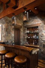 Modern Home Bar Designs43