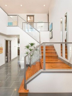 Modern Staircase Designs For Your New Home33