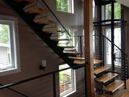 Modern Staircase Designs For Your New Home47