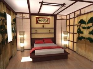 Relaxing Asian Bedroom Interior Designs22