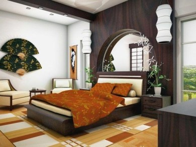 Relaxing Asian Bedroom Interior Designs34
