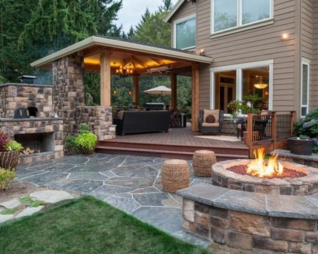 Welcoming Contemporary Porch Designs23