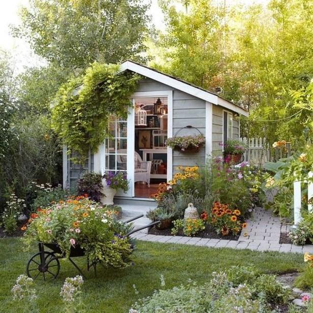 Amazing Backyard Studio Shed Design12