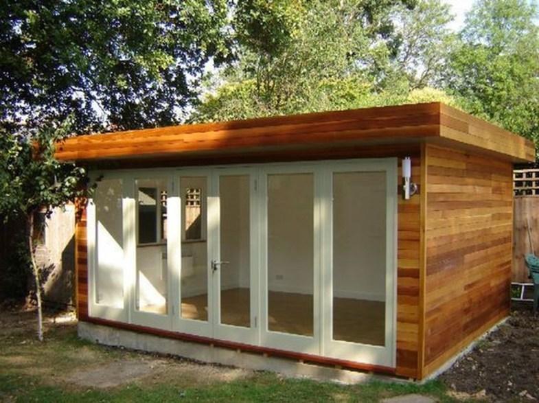 Amazing Backyard Studio Shed Design16