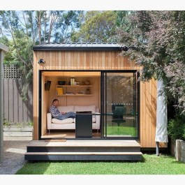 Amazing Backyard Studio Shed Design28