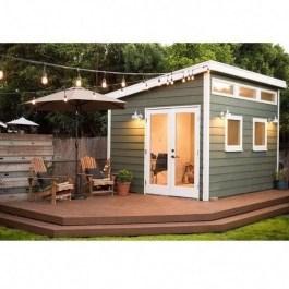 Amazing Backyard Studio Shed Design29