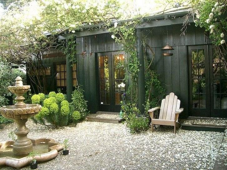 Amazing Backyard Studio Shed Design33