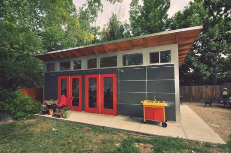 Amazing Backyard Studio Shed Design37