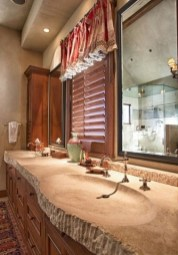 Elegant Stone Bathroom Design29