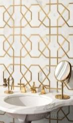 Elegant Stone Bathroom Design37