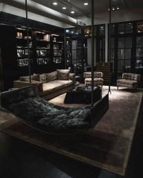 Lovely Black And White Living Room Ideas04