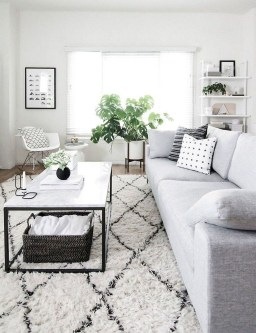 Lovely Black And White Living Room Ideas08