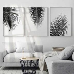 Lovely Black And White Living Room Ideas14