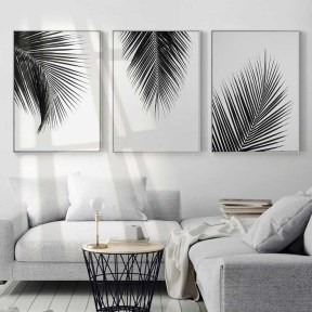 Lovely Black And White Living Room Ideas14
