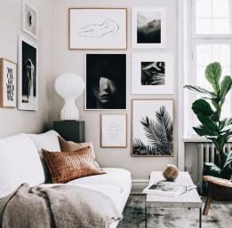Lovely Black And White Living Room Ideas32