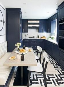 Lovely Blue Kitchen Ideas03