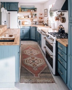 Lovely Blue Kitchen Ideas05