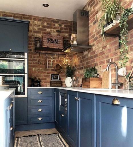 Lovely Blue Kitchen Ideas13