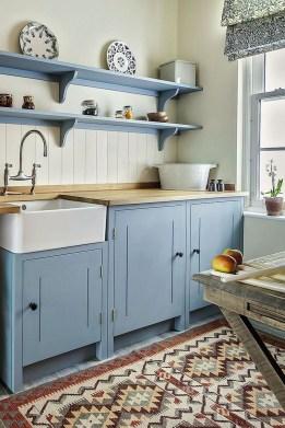 Lovely Blue Kitchen Ideas20