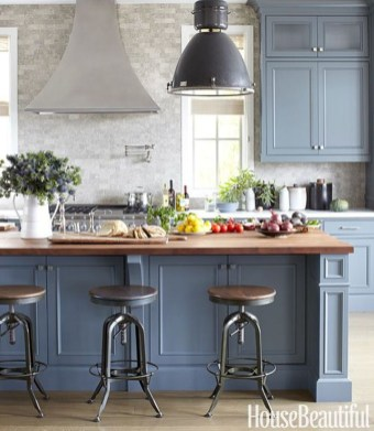 Lovely Blue Kitchen Ideas21