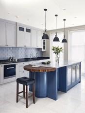Lovely Blue Kitchen Ideas35