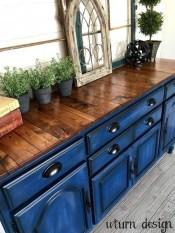 Lovely Blue Kitchen Ideas36