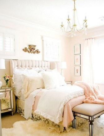 Lovely Girly Bedroom Design08