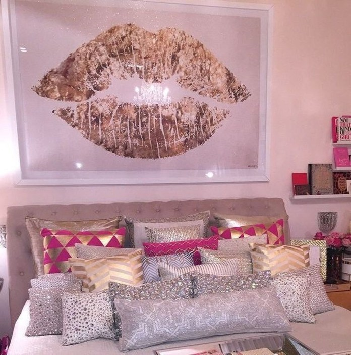 Lovely Girly Bedroom Design28