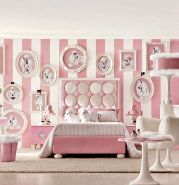 Lovely Girly Bedroom Design38