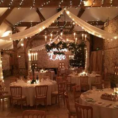 Lovely Winter Wedding Decoration07