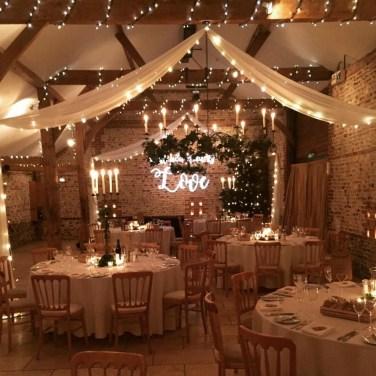 Lovely Winter Wedding Decoration07