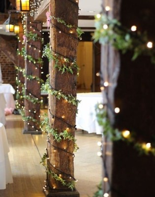 Lovely Winter Wedding Decoration12