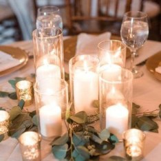 Lovely Winter Wedding Decoration13