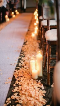 Lovely Winter Wedding Decoration23