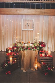 Lovely Winter Wedding Decoration25