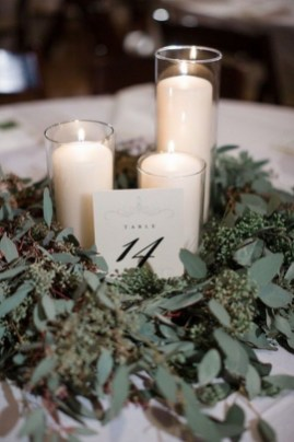 Lovely Winter Wedding Decoration37