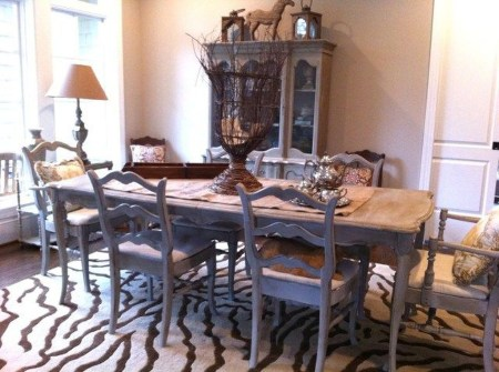 Marvelous French Country Dinning Room Table Design15