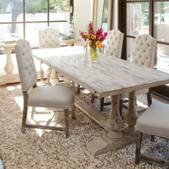 Marvelous French Country Dinning Room Table Design30