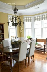 Marvelous French Country Dinning Room Table Design35