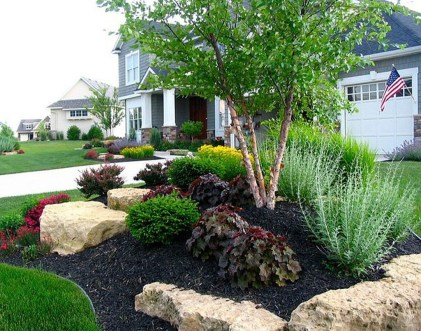 Marvelous Rock Stone For Your Frontyard15