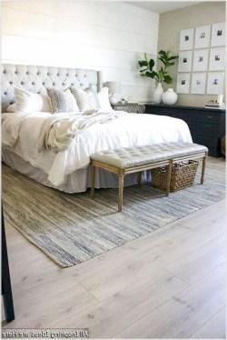 Modern White Farmhouse Bedroom Ideas20