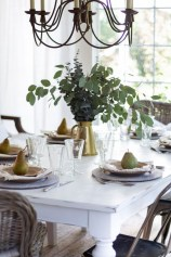 Stunning Plant For Your Dinning Room Ideas19
