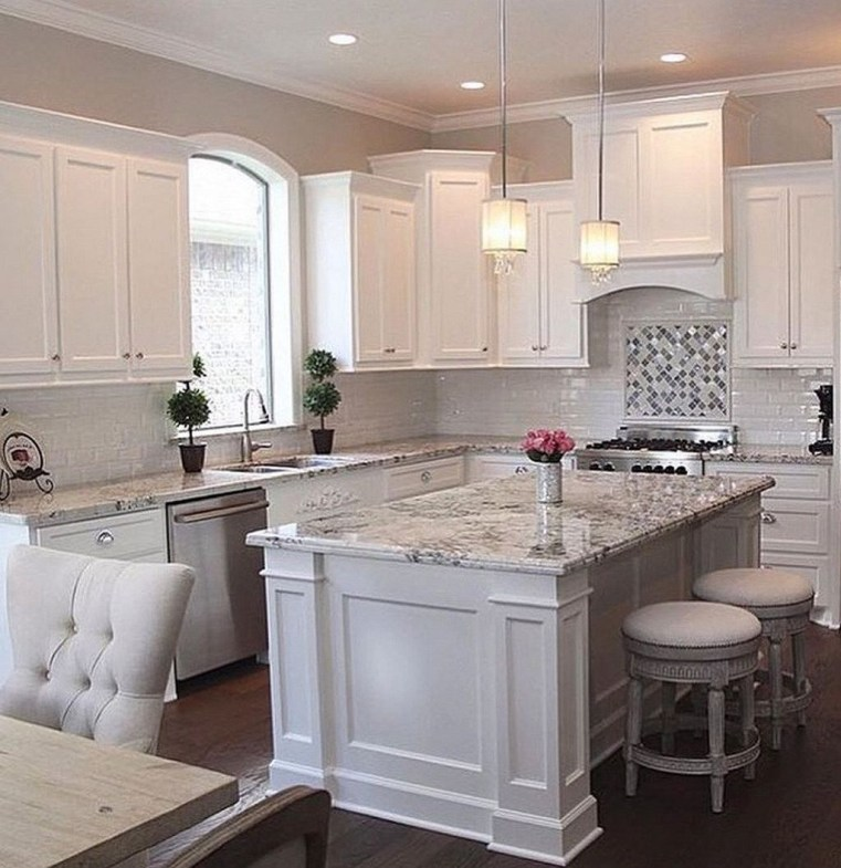 Stunning White Kitchen Ideas24