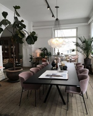 Best Modern Dining Room Decoration Ideas08