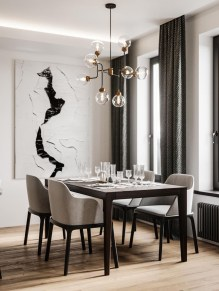 Best Modern Dining Room Decoration Ideas32