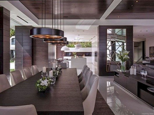 Best Modern Dining Room Decoration Ideas35
