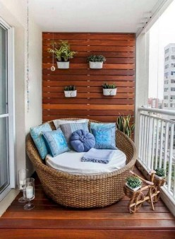 Comfy Apartment Balcony Decorating12