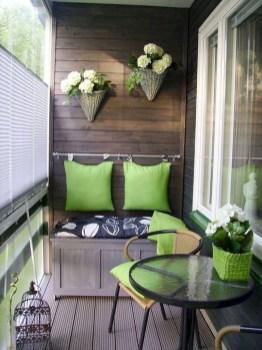 Comfy Apartment Balcony Decorating28