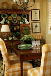 Stunning Country Dining Room Design Ideas03