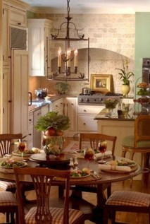 Stunning Country Dining Room Design Ideas11